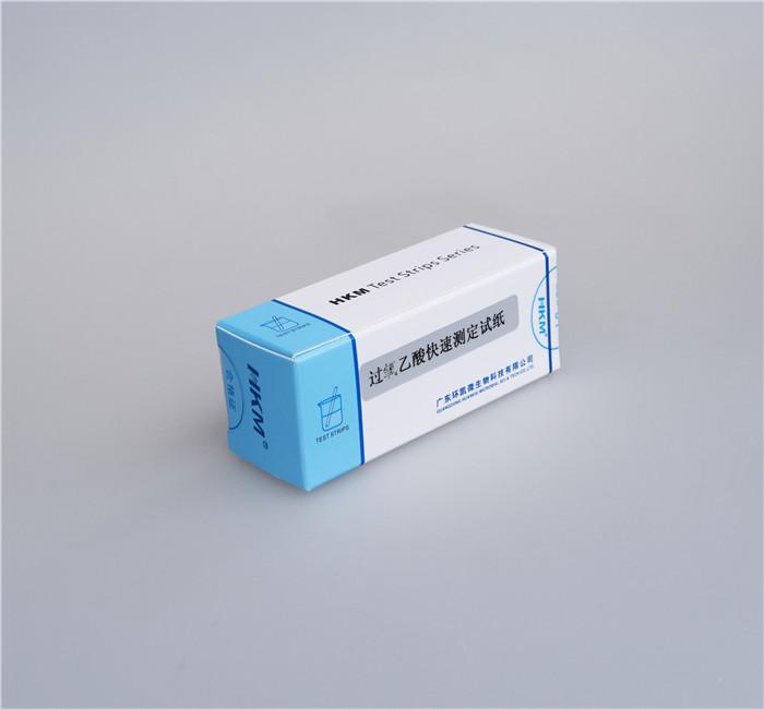 过氧乙酸浓度测定试纸